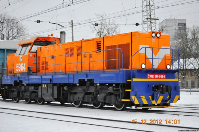 Latvian hydrogen locomotive