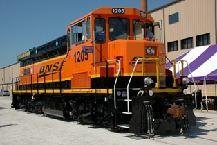 Locomotive, powered by hydrogen fuel cells